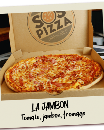 SOS Pizza Grenoble La jambon