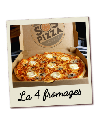 SOS pizza Grenoble 4 fromages
