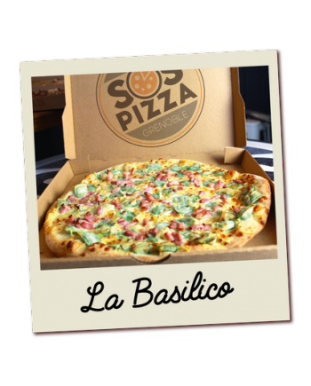 SOS pizza Grenoble Basilico