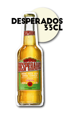 SOS pizza Grenoble Biere desperados