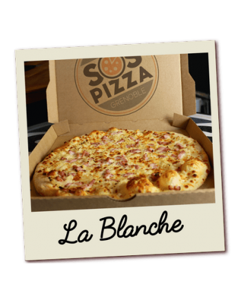 SOS pizza Grenoble Blanche
