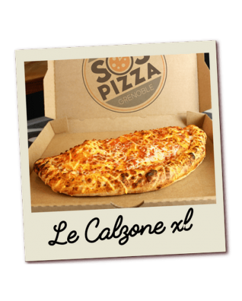 SOS pizza Grenoble Calzone xl