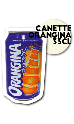 SOS pizza Grenoble Canette orangina