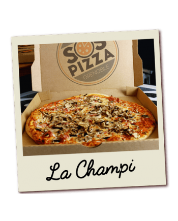 SOS pizza Grenoble Champi