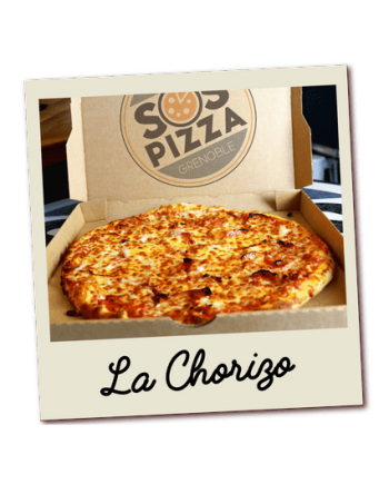 SOS pizza Grenoble Chorizo