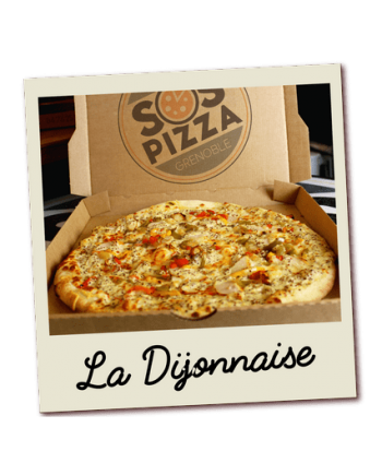 SOS pizza Grenoble Dijonnaise