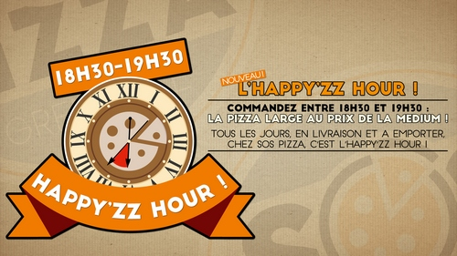 L'HAPPY'ZZ HOUR de chez SOS pizza Grenoble