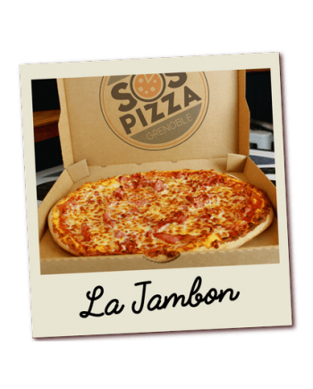 SOS pizza Grenoble Jambon
