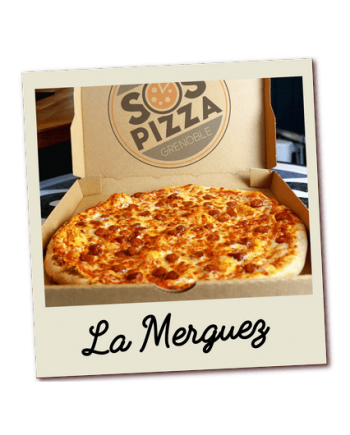 SOS pizza Grenoble Merguez