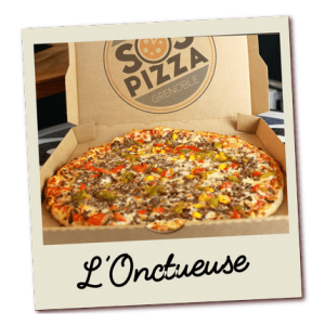 SOS pizza Grenoble Onctueuse