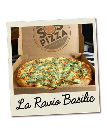 SOS pizza Grenoble Ravio'Basilic