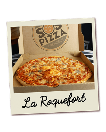 SOS pizza Grenoble Roquefort