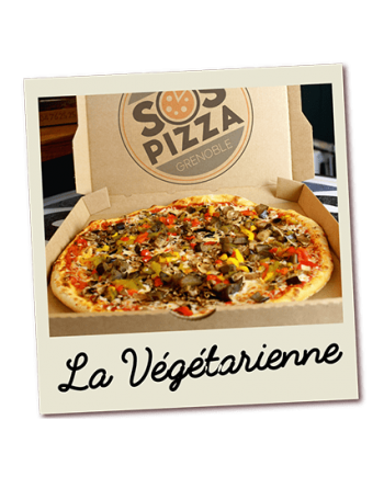 SOS pizza Grenoble Vegetarienne