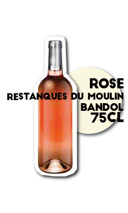 SOS pizza Grenoble Vin Restanques du Moulin Bandol