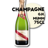 SOS-pizza-Grenoble-alcool_Champagne GH Mumm