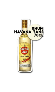 SOS-pizza-Grenoble-Rhum-Havana 70-cl
