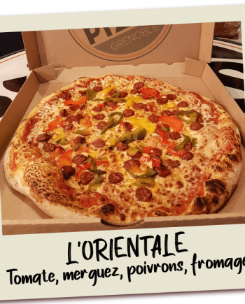 SOS Pizza Grenoble l'orientale