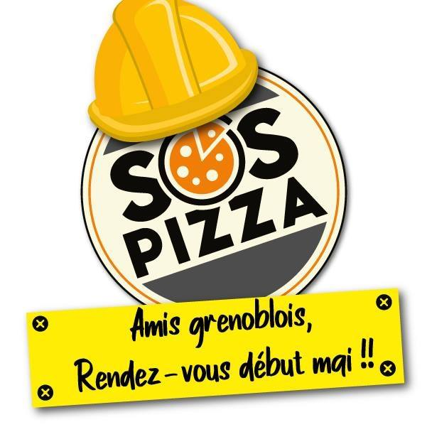 Fin de travaux SOS Pizza Grenoble